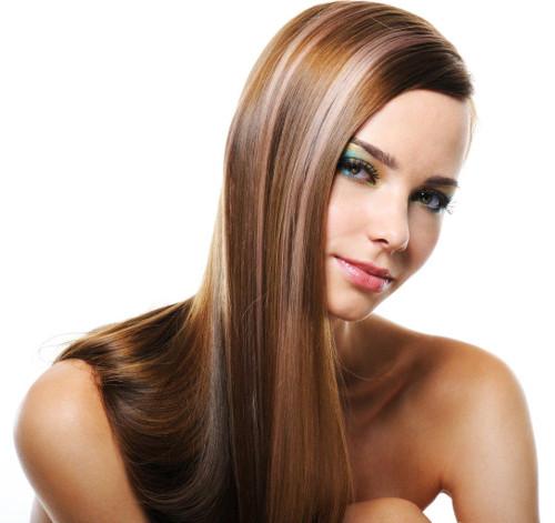 При окрашивании - лечение волос бесплатно в салоне красоты Грааль