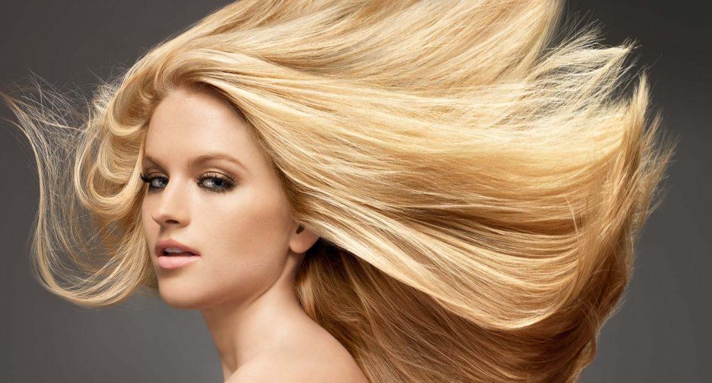 Блондирование волос в салоне Грааль