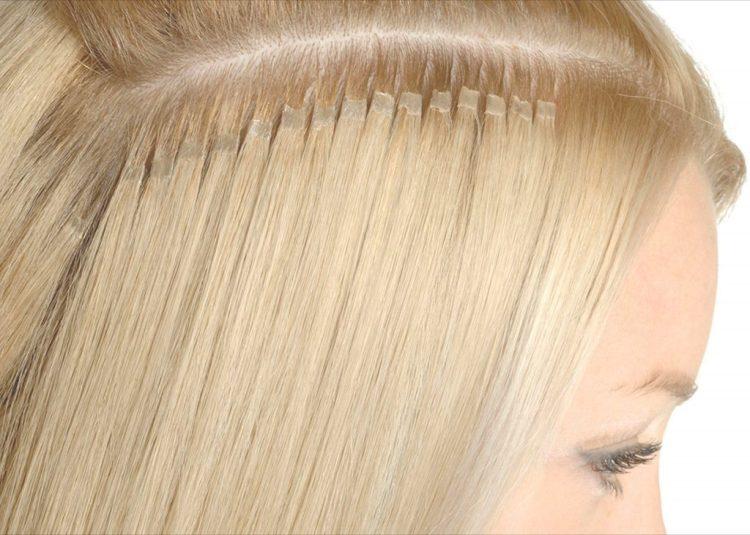 Капсульное наращивание волос в салоне Грааль