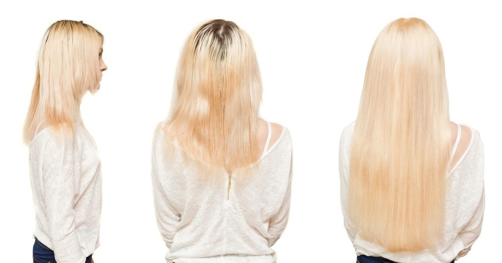 Capsular hair extension salon beauty Grail