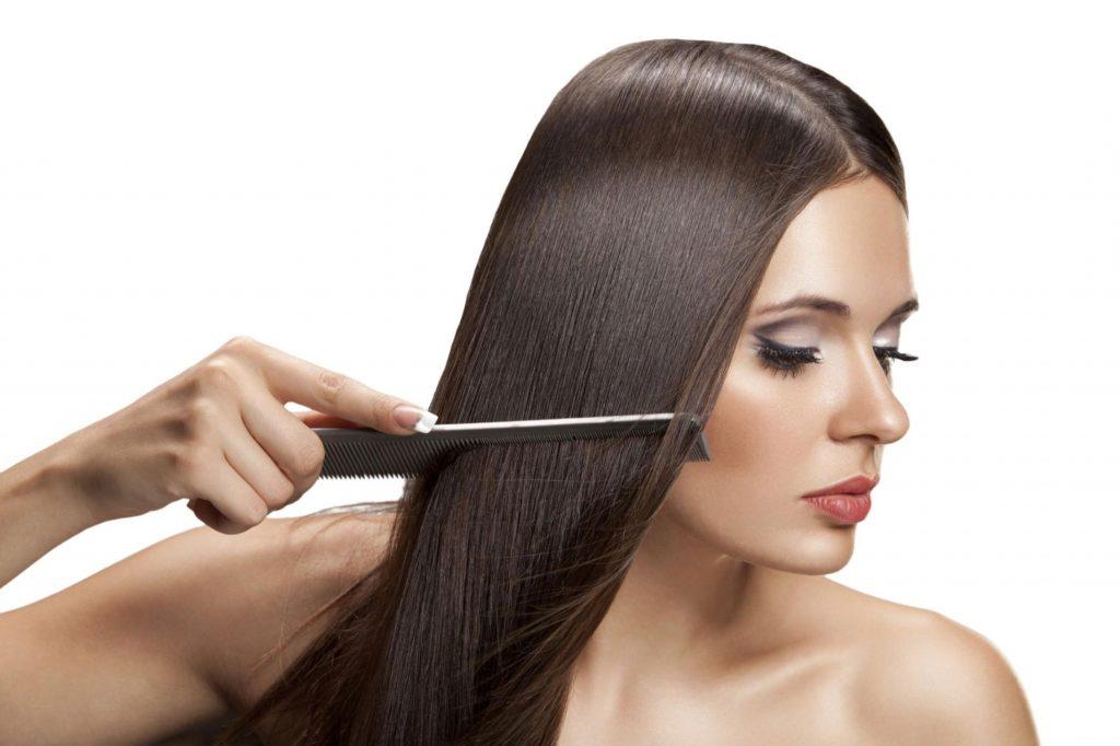Hair treatment in salon Grail