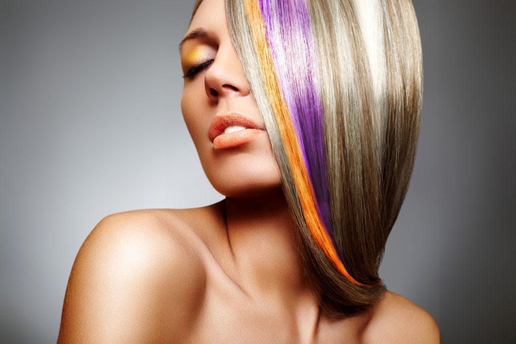 Мелирование волос в салоне Грааль