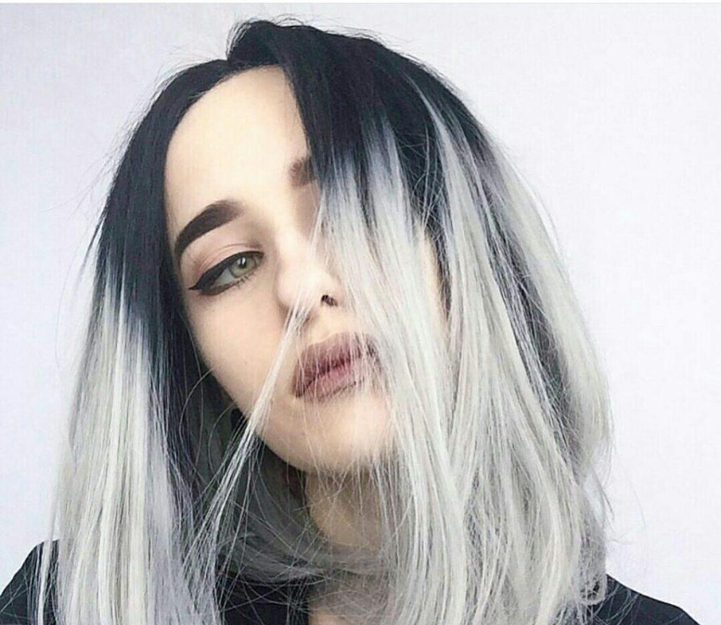 La coloración del pelo de ombre en el salón grial