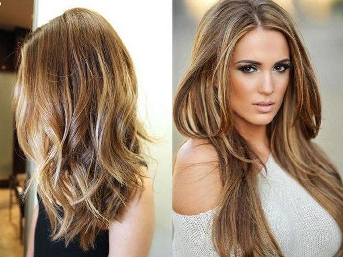 """La coloración del pelo шатуш en el salón de belleza """"el GRIAL"""""""