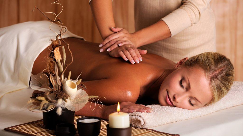 Релакс массаж в салоне красоты Грааль