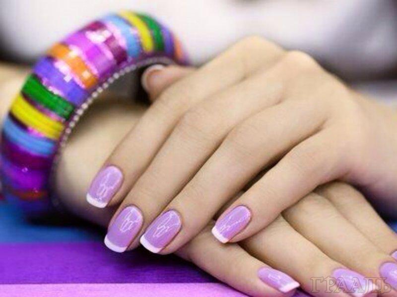Покрытие ногтей шеллак гель-лак в салоне красоты «ГРААЛЬ»
