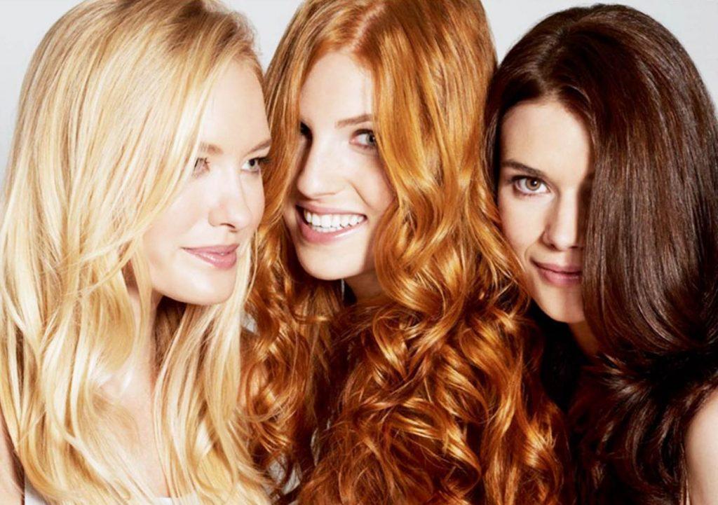 Смывка цвета волос в салоне Грааль