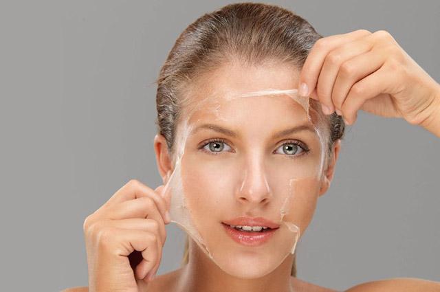 Химический пилинг для лица в салоне красоты «ГРААЛЬ»