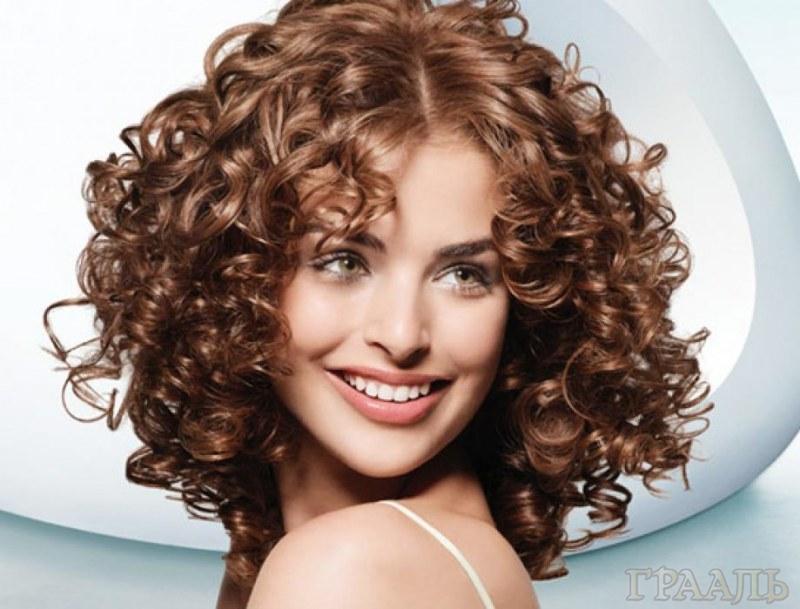 Химическая завивка волос в салоне «ГРААЛЬ»